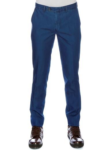 Cotton Bar Cotton Bar İndigo Klasik Pantolon Lacivert